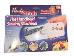 Hand Held Portable Sewing Machine By Handy Stitch Tested Working