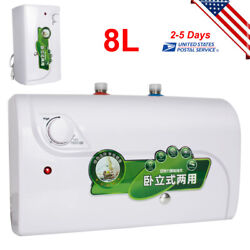 8l Tank Electric Hot Water Heater Home Kitchen Bathroom Bolier 1500w Fast Ship