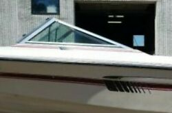 Complete Windshield From A 1989 Baretta Super Sport 185 Parting Out Boat