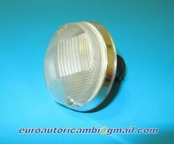 Fiat 124 Ac Sports Coupe Front Blinker Turn Lamp Complete New Rare