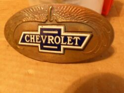 Chevrolet Chevy Grill Emblem Ornament Badge 1920and039s 1930and039s 1929 1931 1932 1927 31