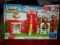 Fisher Price Little People Animal Friends Farm Barn Play Set 2014 New Sounds Toy