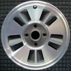 Chrysler Conquest Machined 15 Inch Oem Wheel 1986 To 1987