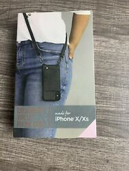iPhone X Xs Fellowes Crossbody Wallet Phone Case New In Open Box $12.99