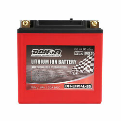 Lfp14l-bs Lithium Iron Battery Lifepo4 Motorcycle For Harley Directly Replace