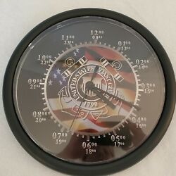 United States Coast Guard 24 Hour Wall Clock - Military Patriotic Armed Services