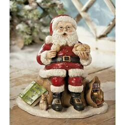 Bethany Lowe Counting Calories Santa Claus Cookies Christmas Free Shipping