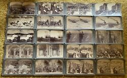 Lot 37 Collectible Stereoviews Underwood And Underwood With Box