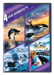 Richterjason James-free Willy Collection 4 Film Favorites Dvd New