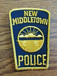 Police Patch 4 Inch New Middletown Police