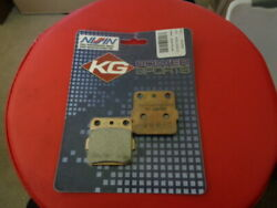 New Nissin Rear Brake Pads Kgn-2000-s 1997-2018 Kx85 And Kx100 And 2008-18 Klx140