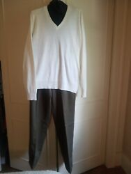 Cousin Eddie Sweater Xl And Black Dickie Green Pants 34 Outfit Ugly Christmas