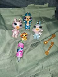 Poopsie Slime Surprise Sparkly Critters Lot Of 4