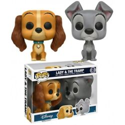 Funko Pop Disney Lady And The Tramp 2-pack Hot Topic Exclusive Nib Htf