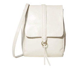 Hobo Women#x27;s Vintage Leather Bridge Convertible Backpack Latte Cream $268 $139.99