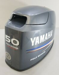 6c1-42610-00-8d Yamaha 2006 And Up Top Cowl Hood Engine Cover 50 Hp 4 Stroke 4 Cyl