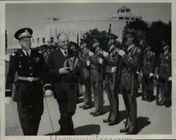 1939 Press Photo Herbert Hoover Crack Exposition Company 30th Infantry San