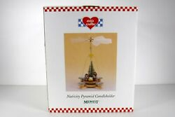 Eddie Walker Nativity Pyramid Candle Holder Midwest Of Cannon Falls Christmas
