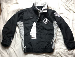 Vintage Chicago White Sox Jacket Columbia Youth Xl Adult Extra Small Winter Coat