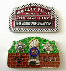 Chicago Cubs Police Cpd 2016 Mlb World Series Wrigley Field Caray Challenge Coin