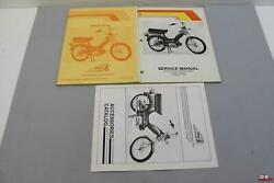 Nos Oem Indian Ami 50 Chief Service Manual /parts Book /accessories Catalog