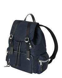 NEW $1290 AUTHENTIC BURBERRY LARGE BACKPACK RUCKSACK LEATHER NYLON AVIATOR $875.00