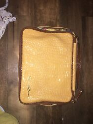 Samantha Brown Croco Embossed Carry On