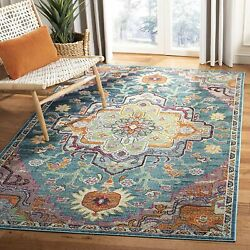 Safavieh Crystal Collection Crs501t Boho Chic Vintage Distressed Area Rug 6and039 7