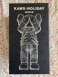 Kaws Holiday Space 11.5andrdquo Silver Figure Ready To Ship