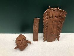 Vintage Marx Johnny West Best Of The West Native American Accessories