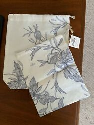French 100% Linen Baguette Bags 2 by Le Pompon NEW amp; Made in France $36.00