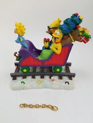 The Simpsons Christmas Express Train All Aboard Figurine