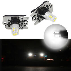 Bright White Ph16w 10-smd Led Bulbs Backup Lights For Audi A7 S7 Bmw M3 3 Series