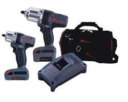 Ingersoll Rand Iqv20-201 20v Cordless Lithium-ion 2-piece Impact Wrench Combo