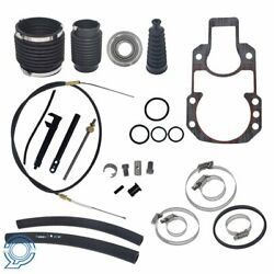 Transom Service Kit Gimbal Shift Cable Bellow For Mercruiser Alpha 1 One Gen 1