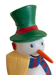 Replacement Carrot Nose For Tpi Snowman Blow Mold Christmas Light Up Blowmold