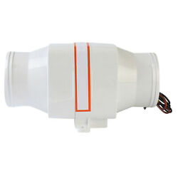 3and039and039dc 12v Marine In-line Exhaust Blower Vent Fan Ventilation Hi-flow Boat Big