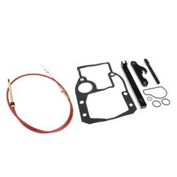 Boat Replacement Shift Cable Kit Adjustment Tools Gasket Set Fits Omc 987661