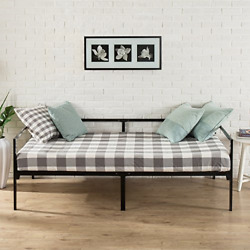 Zinus Brandi Quick Lock Twin Day Bed Frame With Steel Slat Support