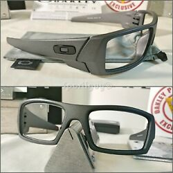 New Oakley STEEL Gascan Frame Only OO9014 3560 w New Color Carbon Microbag $79.00