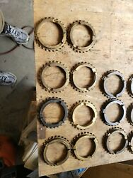 Ford T87d Transmission Synchronizer Rings T87d-14 Pair Used