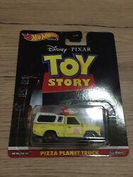 Hot Wheels Real Rider Toy Story Pizza Planet Truck Todd