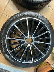 Wheels 245/40/ R18 With Tires Continental Pro Only A 960 Miles Used.