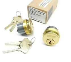 Lot Of 2 Schlage 20-001-6 606 1-1/4 Mortise Cylinder S123 Keyway