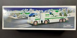 2006 Hess Truck Toy Truck W Helicopter Vehicle New Gas Oil Station Copter