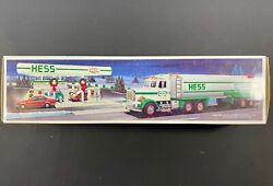 1990 Hess Toy Tanker Truck New Gas Oil Station