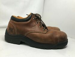 Menand039s Pro Series Safety Toe Leather Work Boots 47028 Size 9 M