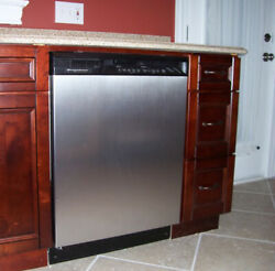 Appliance Art Instant Stainless Large Magnet Dishwasher Cover 23.5 W X 30 T