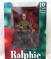 A Christmas Story Ralphie Neca Toys 10 Action Figure Push Button Sound New