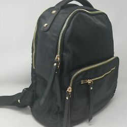 Urbanfit NEW Black Backpack Water Resistant Everyday Hiking Student New w Tags $68.00